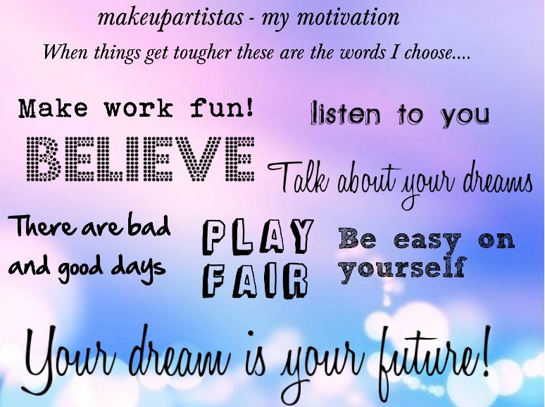 makeupartistas motivation