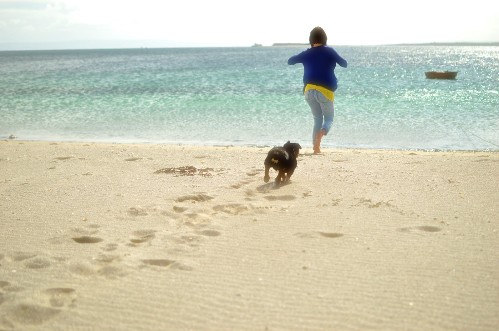 beach Aran Islands