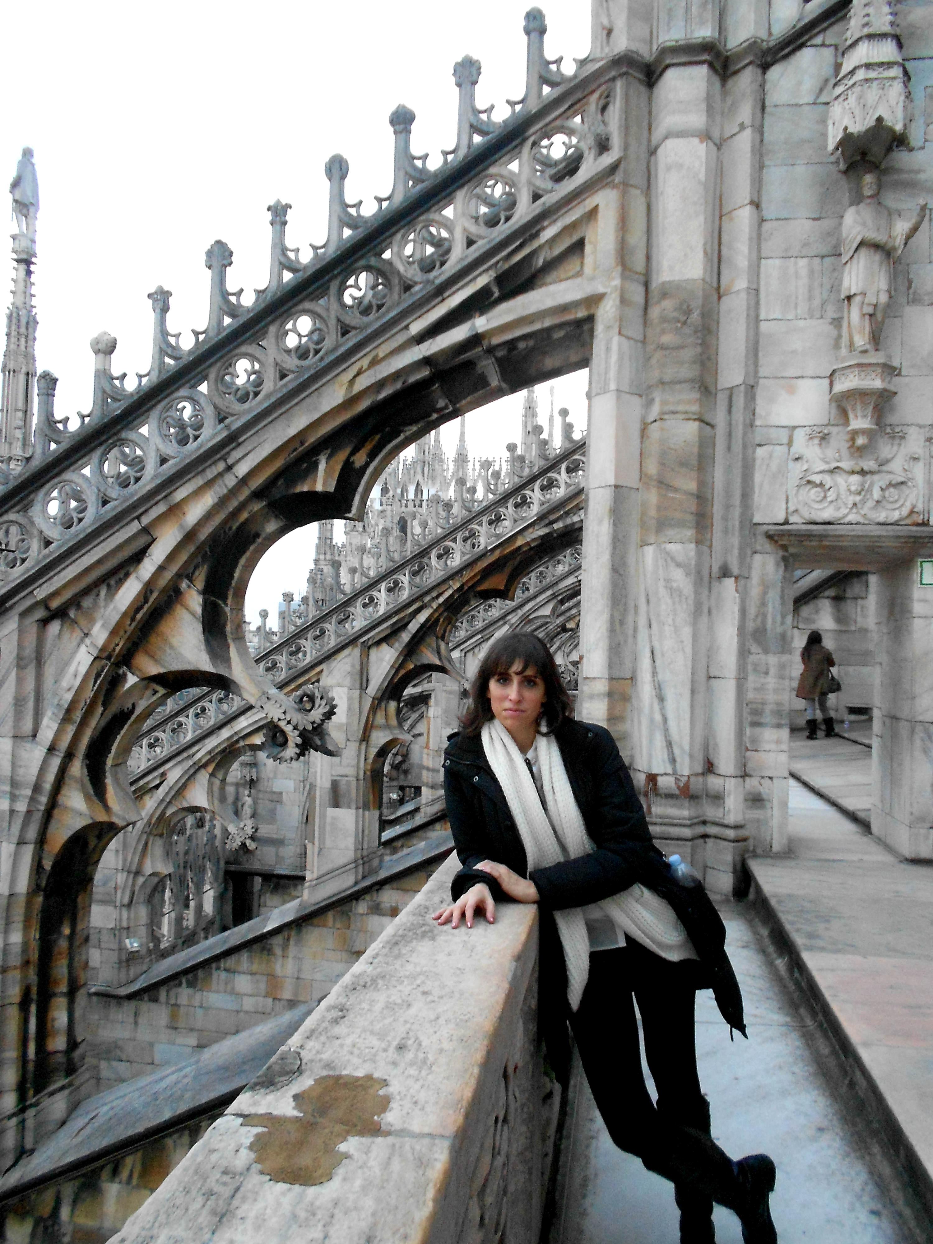 makeupartistas in Duomo roof top