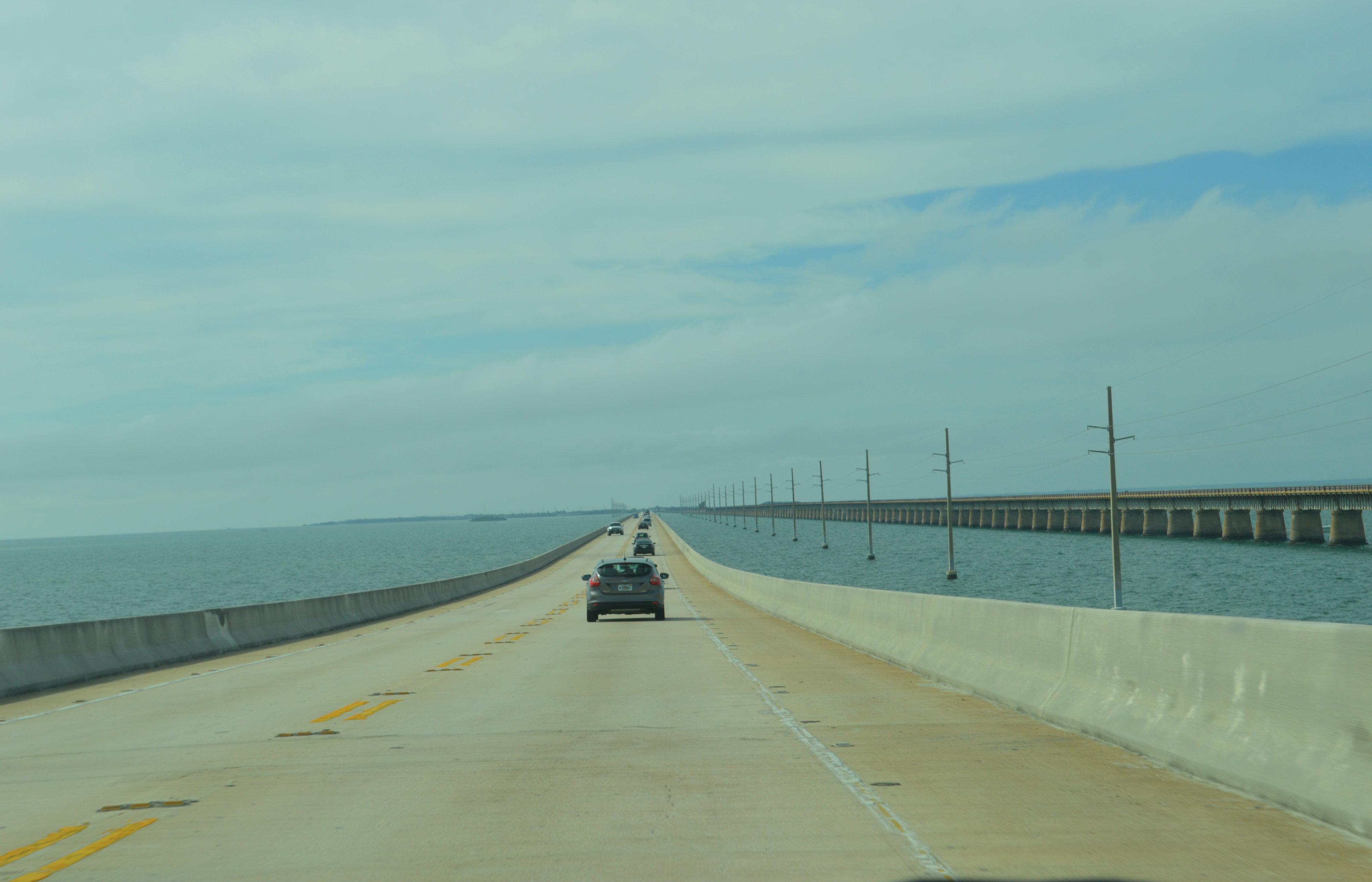 7 mile bridge to Keywest