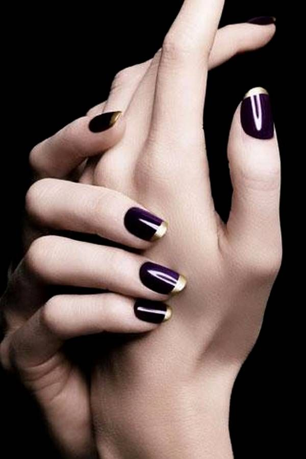 dark nails inspiration