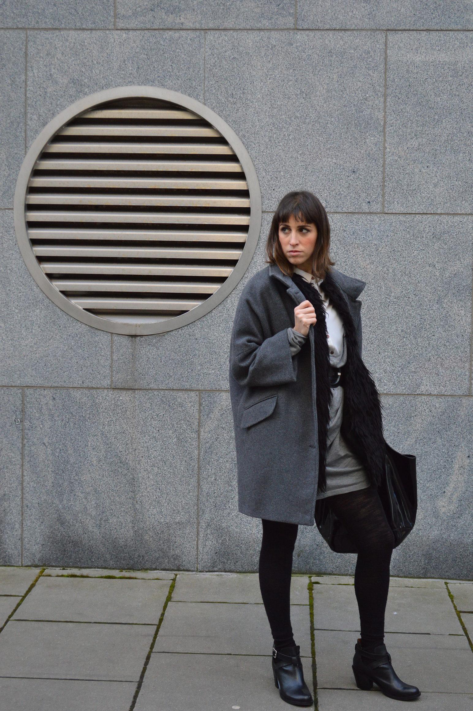 ootd sisley coat