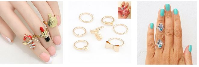 glitz n pieces rings