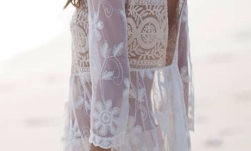Summer whites lace