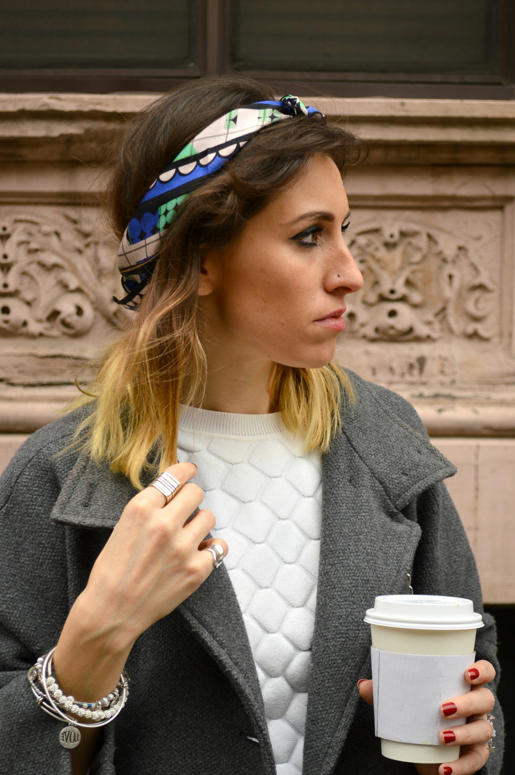 New York fashion blogger