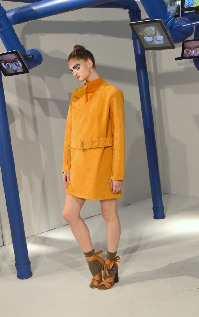 Gabriel Vielma orange dress