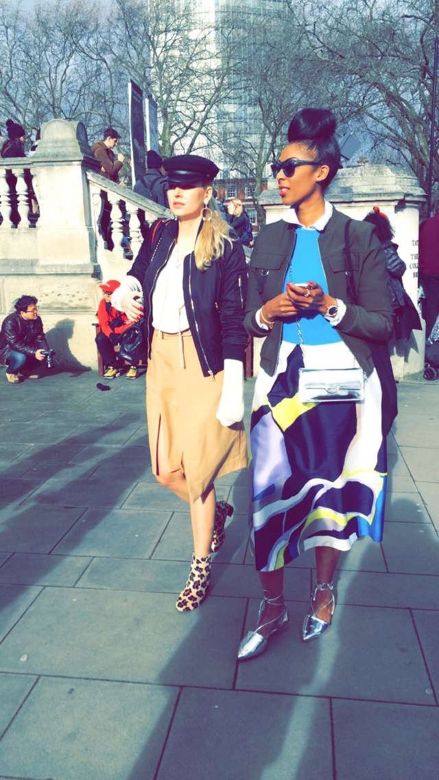 Bloggers at LFW16