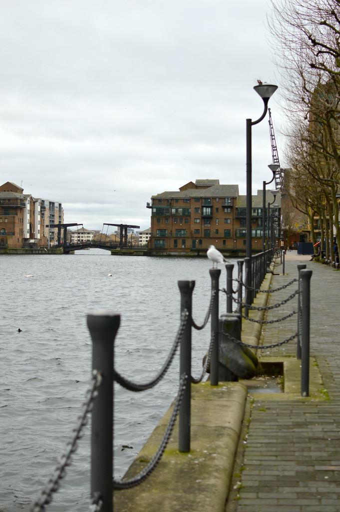London view Canary wharf
