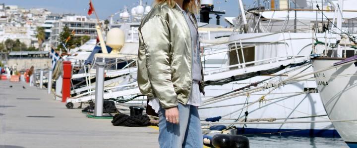 Bomber jacket justKassi