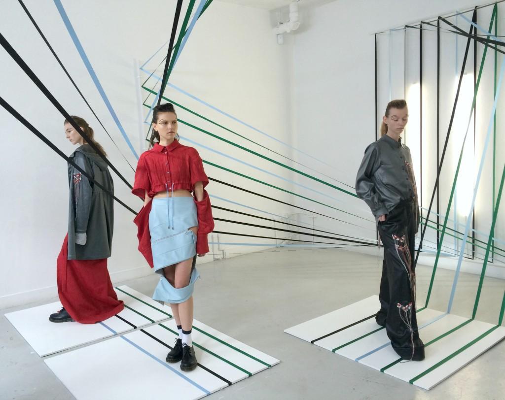 Danielle Romeril Fashion presentation