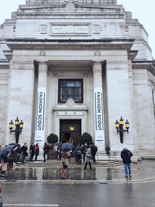 London Fashion scouts