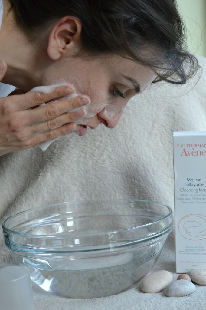Face wash Avene foam