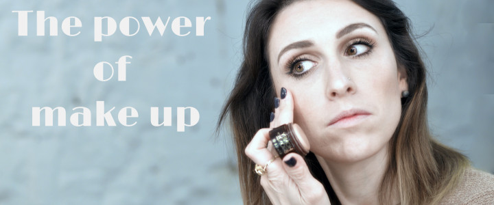 The power of make up cover