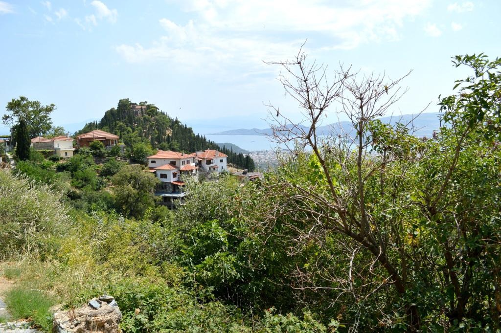 Pelio mountain view