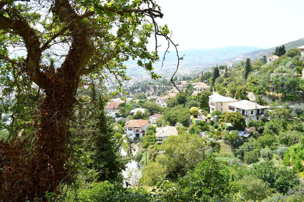 View Pelio mountain