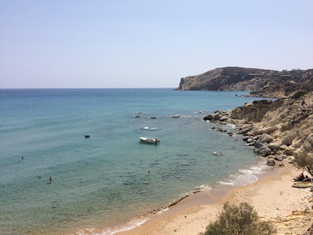 Agios Sostis Beach Milos