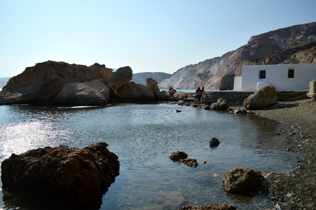 Fyriplaka Milos Greece