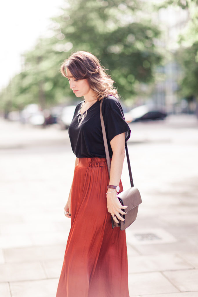 relaxed summer look