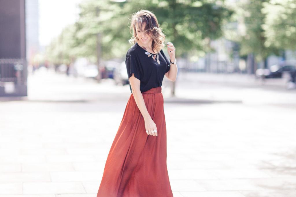 copper skirt
