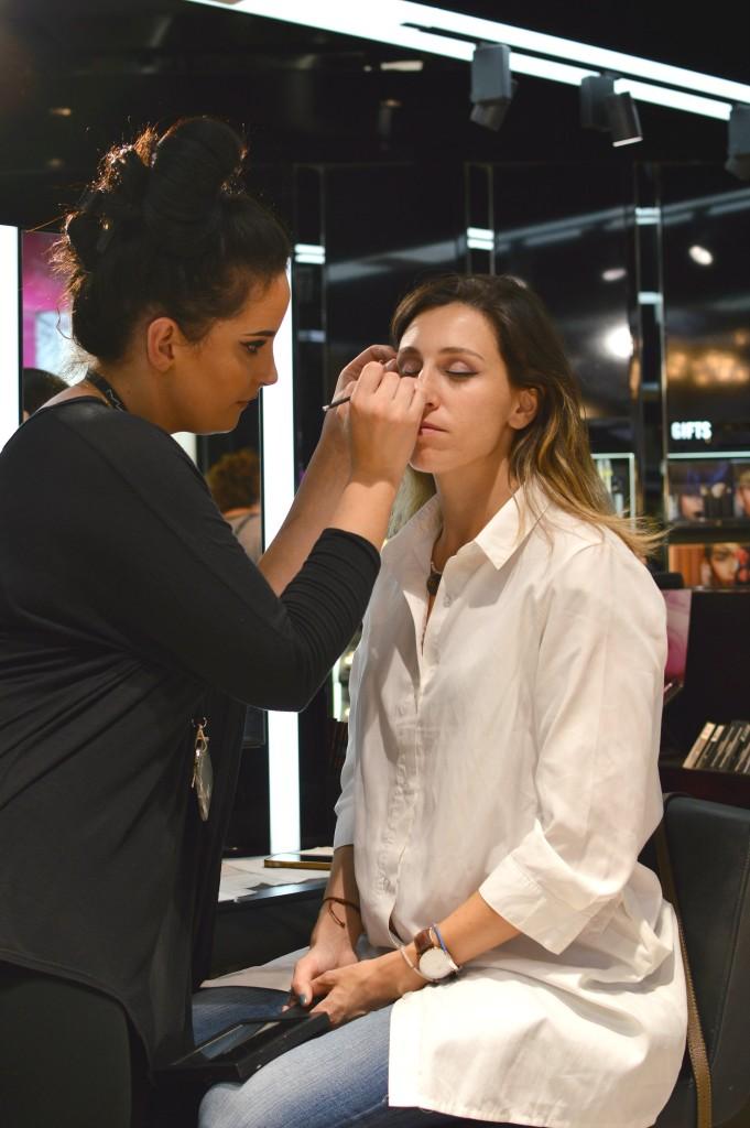 Make up by KYM at MAC