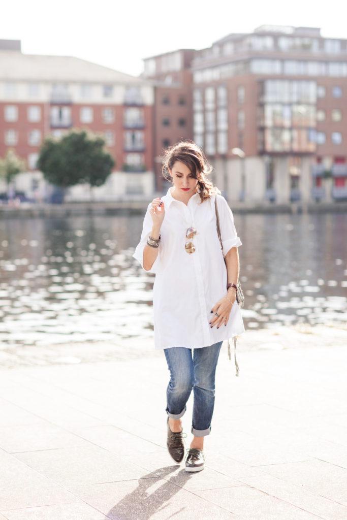 white shirt PLT