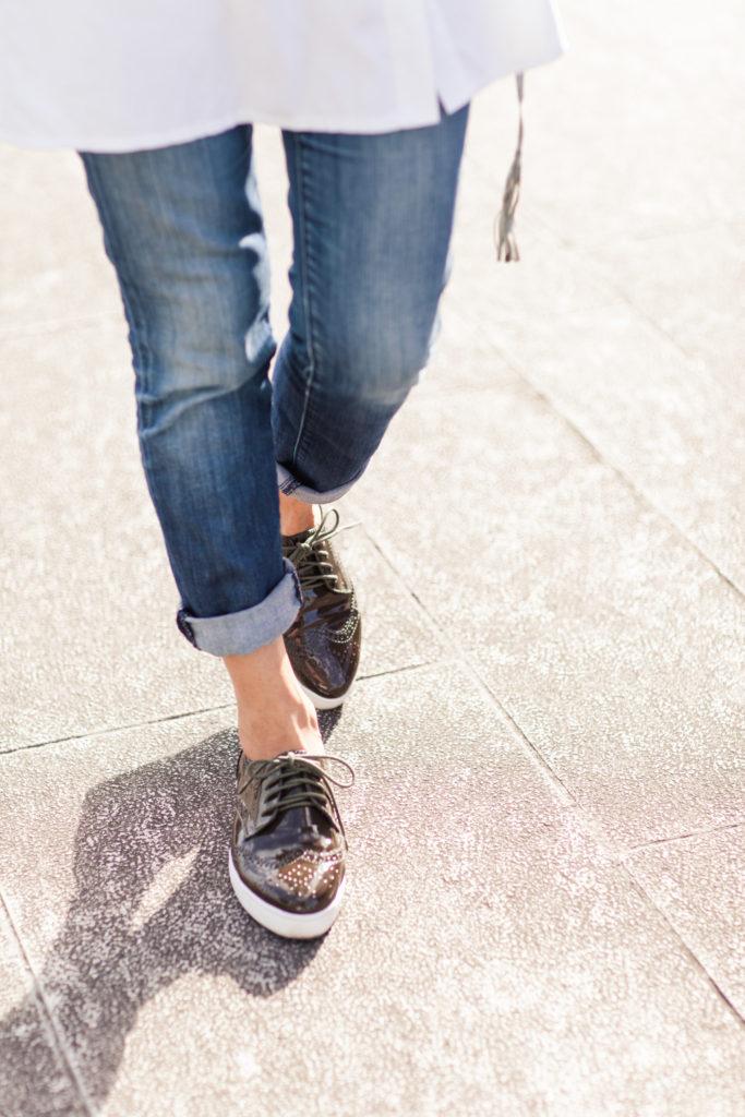 brogue shoes women