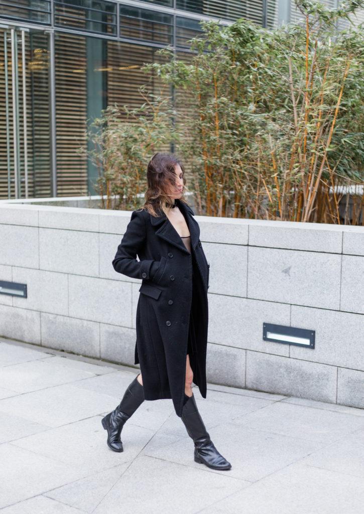 Black Velvet Dress 17
