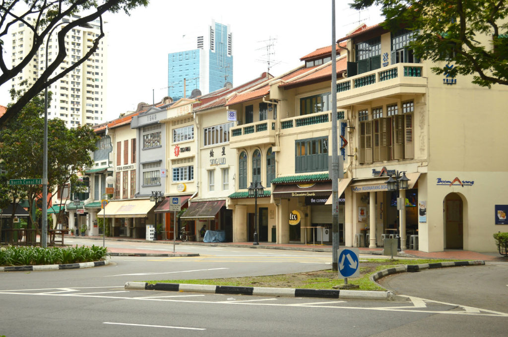 Singapore side streets