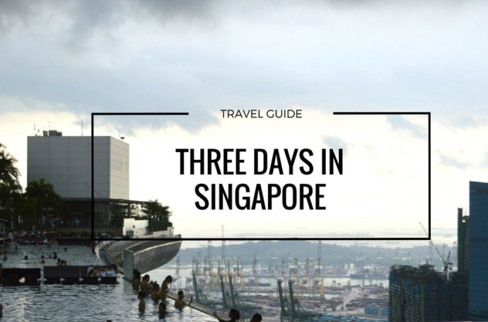 THREE DAYS IN SINGAPORE