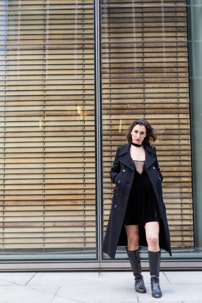 Velvet Dress 46