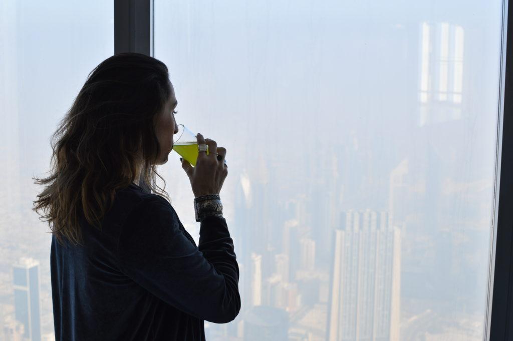 At the top of Burj Khalifa - justkassi
