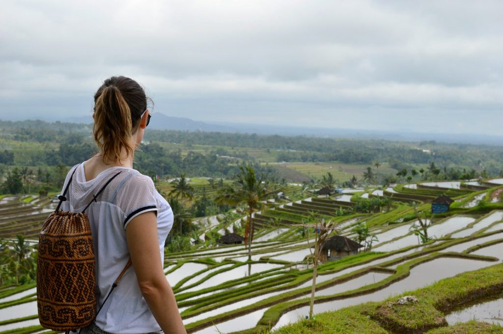 Ricefields Tabanan Jatiluwih Bali justkassi