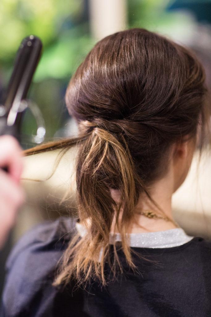 up style bridal hair
