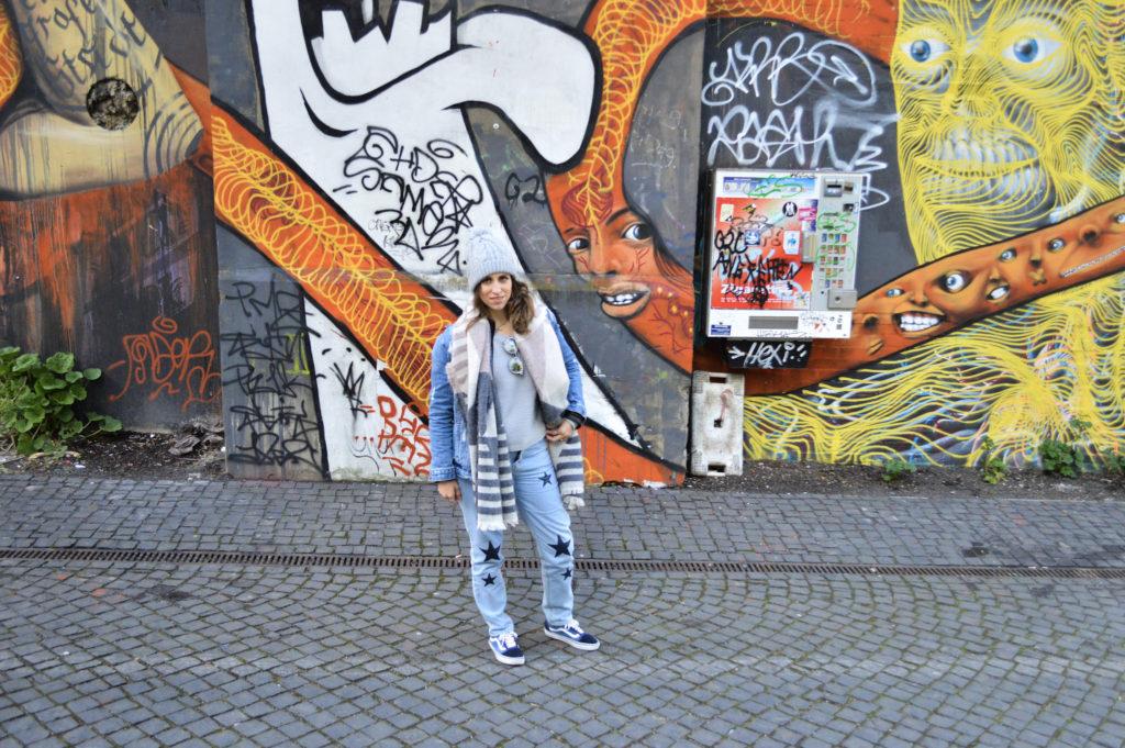 Graffitin in Hamburg city centre