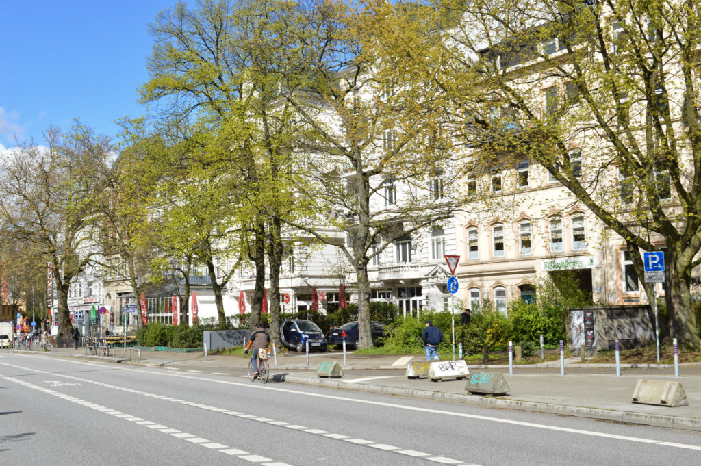Hamburg in the Spring