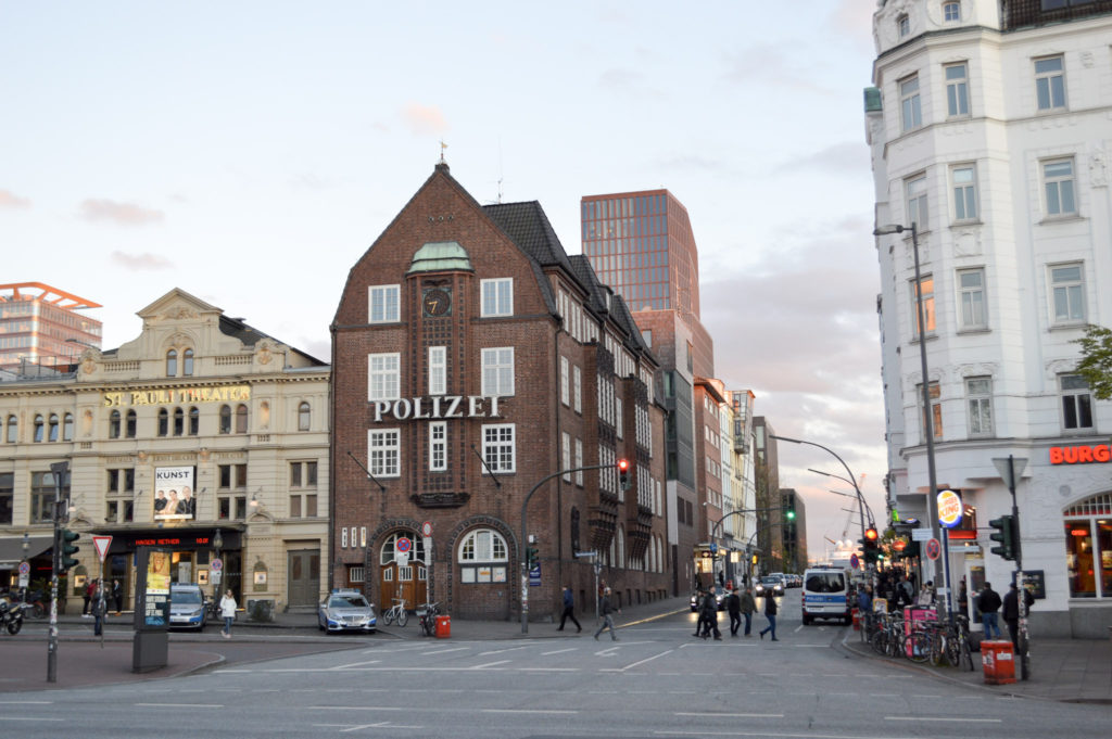 Red light district Hamburg