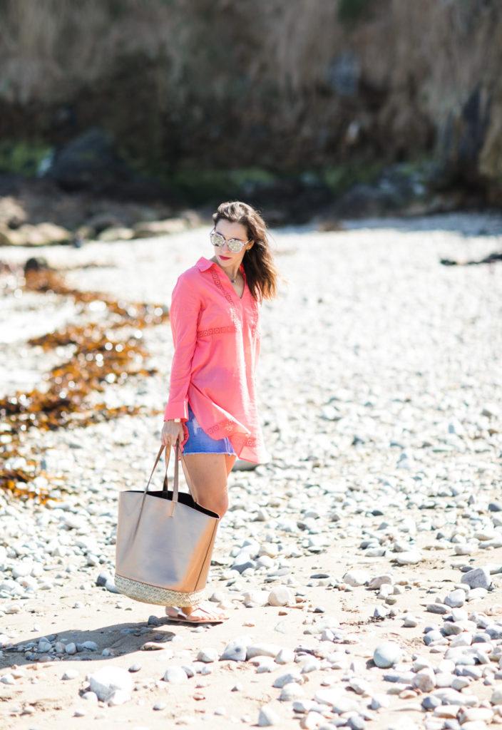 copper beach bag