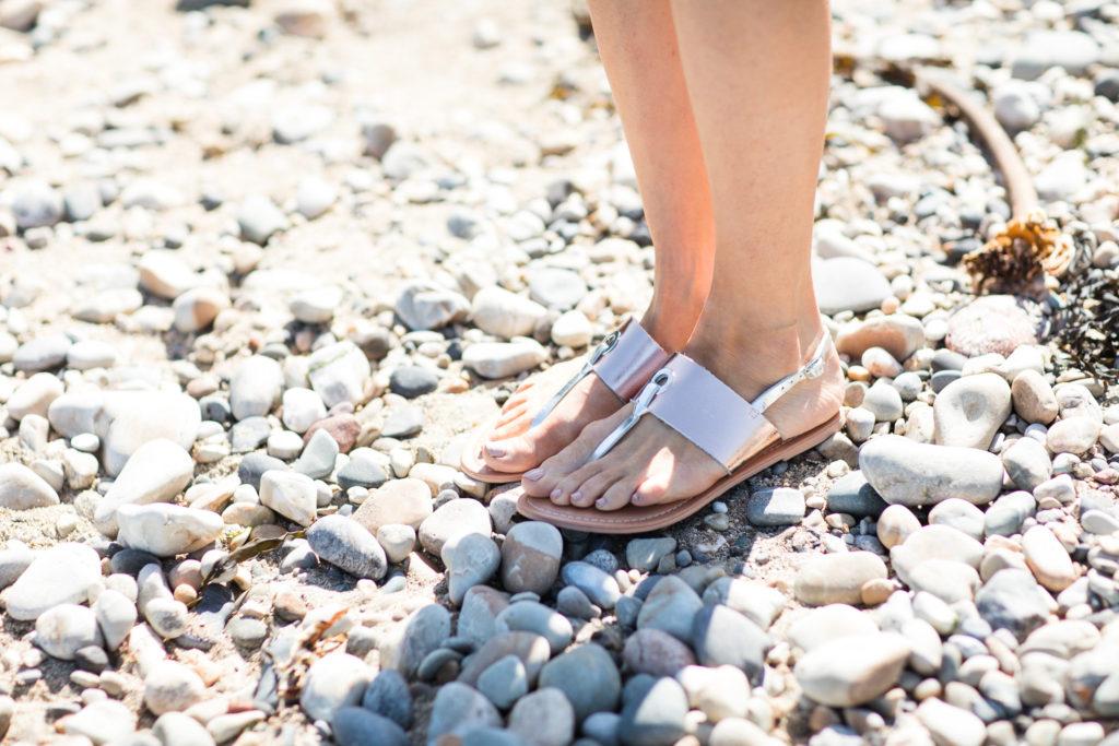 gold sandals littlewoods ireland