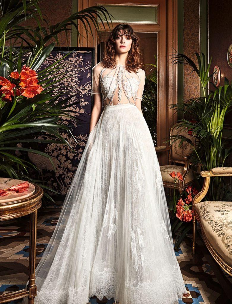 boho_chic_wedding_dresses_2017_bohemian_lace_wedding_dress_yolan_cris_chris_style_belladonal