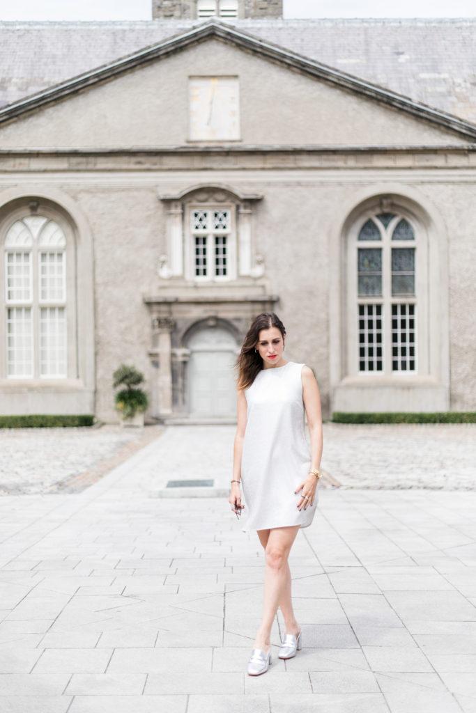 Just Kassi Silver dress