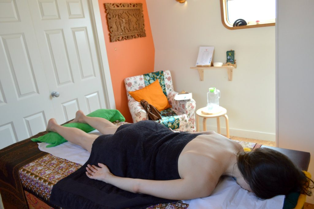 Massage in Grand Canal Dublin