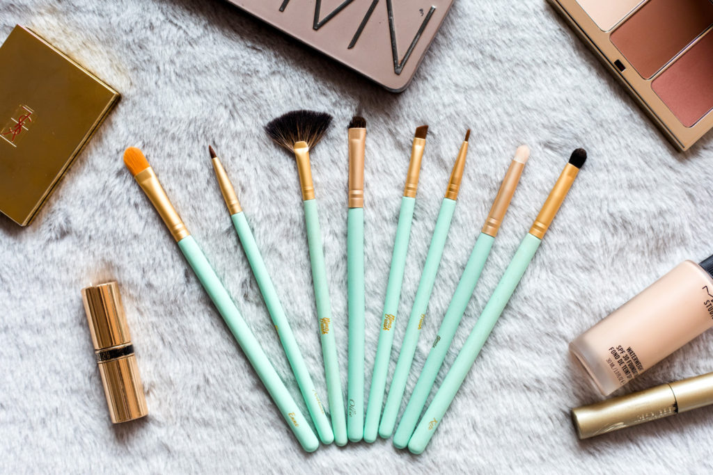 Nimah brushes new collection