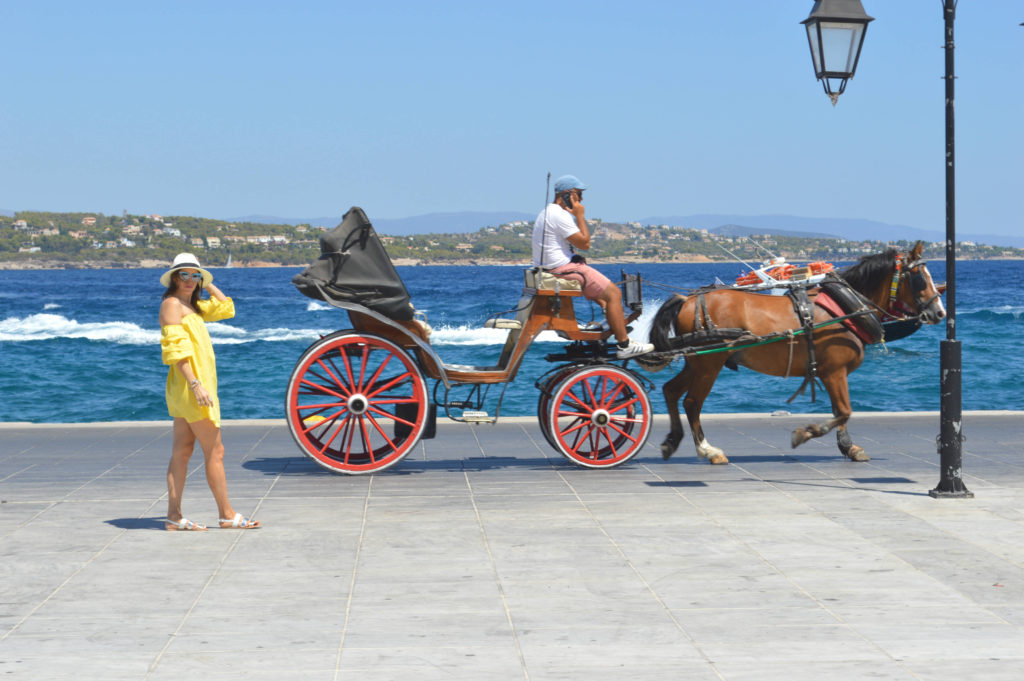 SPETSES Greece carriage