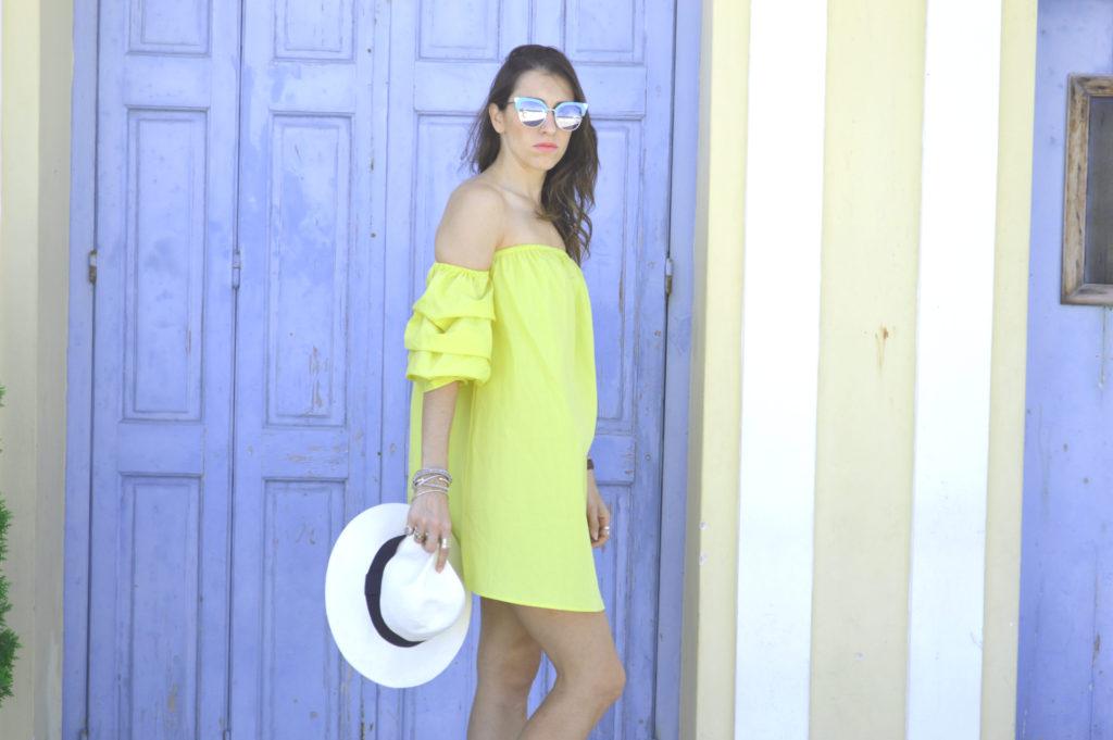 Yellow dress pretty Little thing