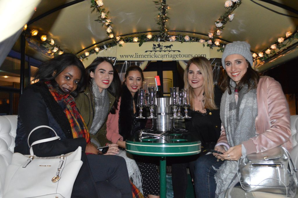 Hen party in Limerick carriage tours