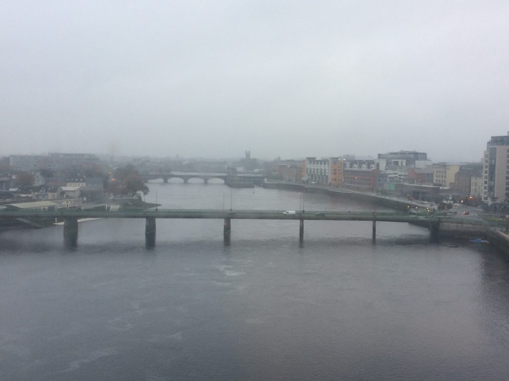 River Shannon view from Clayton Hotel Limerick