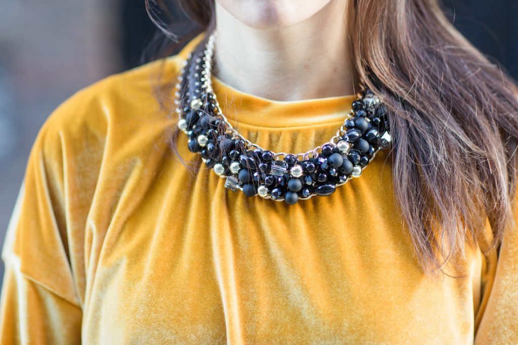 Necklace details