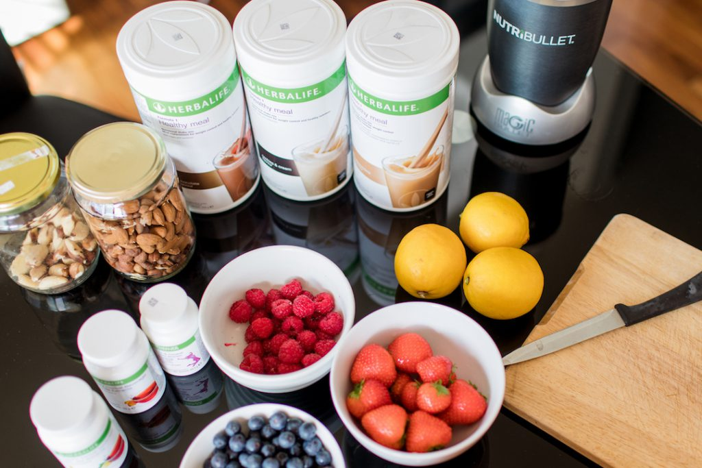 Herbalife protein smoothie