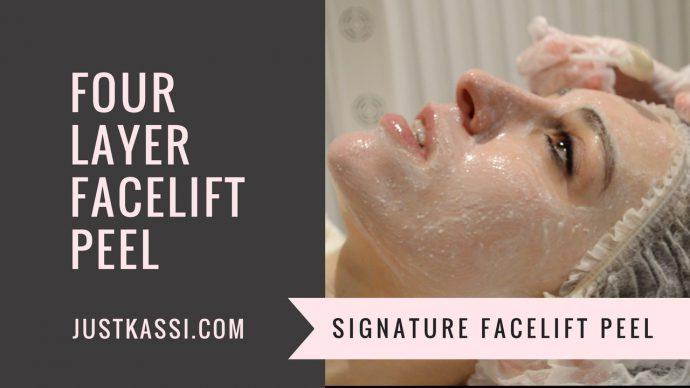 Signature Face lift peel