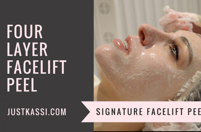 Signature Face lift peel